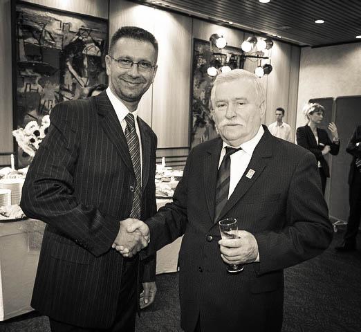 Prezydent Lech Wałęsa